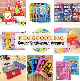 🎊🎉🎁🎀🎈 💖Kids Goodie Bag/ Color Pencil CNY Gifts Mosquito Patch Wallet Stationary Sticker