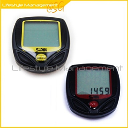 Bicycle/Bike Trip Computer Speedometer/Odometer (Backlight) WIRED/WIRELESS Water Resistance