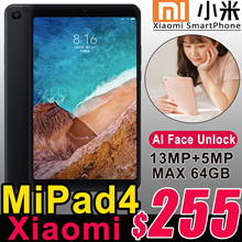 Authentic Xiaomi Mi Pad 4 Android Tablet PC 8.0inch FHD Snapdragon 660 WiFi 4G LTE 13MP Camera GPS