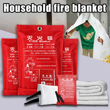 Fire Blanket Emergency Survival Fire Shelter Safety Protector Fire Extinguishers Tent