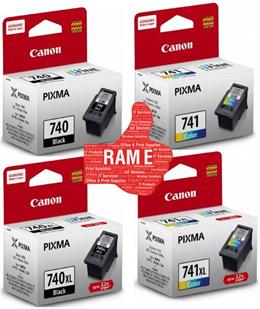 [ORIGINAL INK] Canon PG-740 / PG-740XL / CL-741 / CL-741XL / Value Bundle (Individual Pack)