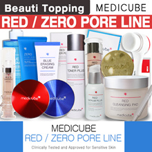 ADD NEW LINE!!★MEDICUBE★Blue/Red/Zero Line(Erasing Cream/CushioRed Body Bar/Zero Pore Pad/Serum/Crea