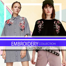 [16 Jan NEW] Embroidery Blouse Shirts Tshirt Collections