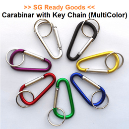 [New Listing][Carabiner] Carabiner with Key Chain  ★ Multipurpose  ★ Outdoor ★