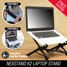 Nexstand K2 Laptop Stand foldable  portable  height adjustable promote healthy posture