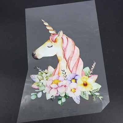 Unicorn Stickers Ironing Stickers Transfers Patch Clothing Iron On DIY Decor