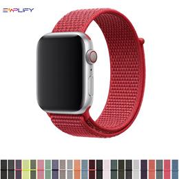 Apple Watch 1/2/3/4/5 Straps Premium Woven Nylon Watch Band
