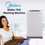 Midea 7KG Fully Auto Washer Washing Machine MFW-701S - 2 Years Midea Malaysia Warranty
