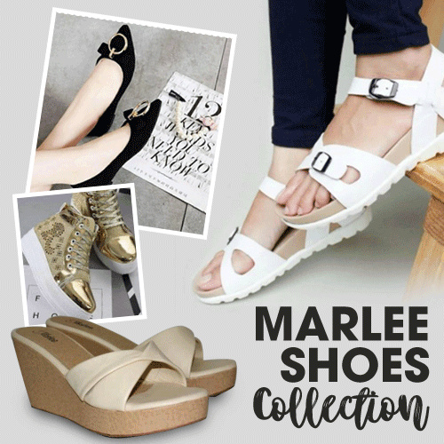 BEST SELLER MARLEE SHOES / SANDALS/ WEDGES / HEELS / CASUAL SANDALS / TRENDY SANDALS/ TRENDY WEDGES Deals for only Rp50.000 instead of Rp50.000