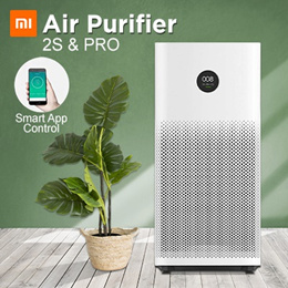 *QUUBE PROMO* XIAOMI Air Purifier 2S // Pro  OLED Screen Display  Control by SmartPhone App