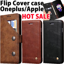 Oneplus 6 5T 5 Flip wallet leather PU case cover for HUAWEI Samsung Galaxy Note 8 S8 S7 iPhone X 8