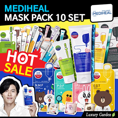 Cek Harga Baru Mediheal Line Friends 4 In 1 Bundle Mask Pack Terkini Source · MEDIHEAL Low Price Chance Mask pack 10pcs SET SALE Korea Face