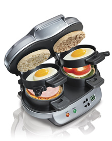 Hamilton Beach 25490A Dual Breakfast Sandwich Maker New