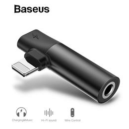 Baseus L43 iPhone to 3.5mm Audio Jack Converter Port Music Lightning for Apple iPhone 8 8 Plus XS