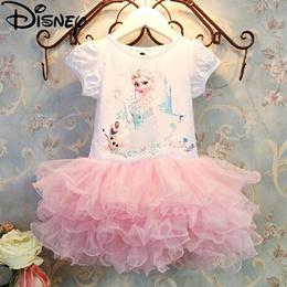Disney Frozen dress Girls Children Clothes Anna Elsa Girl Baby Costume Kids Princess Vestidos Infant
