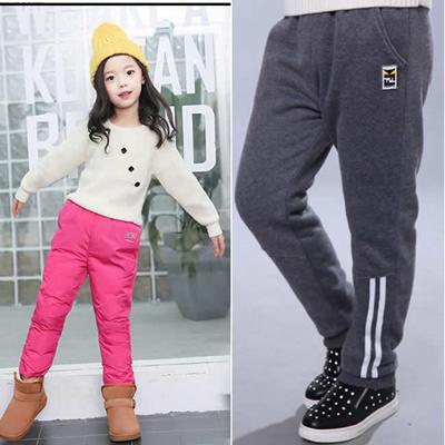 ffff309306366 COUPON  Kids men Winter Leggings  Girls pants wear ladies plus size Thick  warm trousers