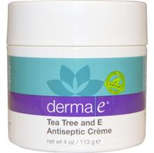 Derma E Tea Tree and E Antiseptic Creme 4 oz (113 g)