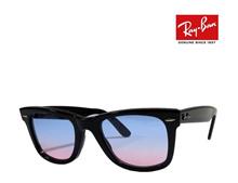 [iroiro] Ray-Ban Ray-Ban glasses frame RX5121 2000 Black WAYFARER funky color sky blue / pink Japanese regular RCP