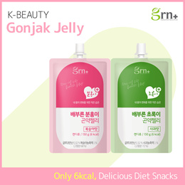 [GRN+] Diet Jelly / Konjac Jelly / ONLY 6 calories / Peach Apple Flavor