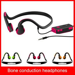 New Original Bone conduction Open Ear Sport Headphones 3.5mm Safe Comfortable Fit running headphones