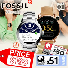 IT SHOW 2018 BeTTer than SHOW $$! FOSSIL Q TOUCHSCREEN Smart Watch Collection.Activity Tracking