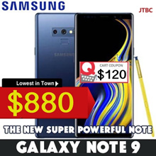Samsung Galaxy NOTE 9 | 128GB / 512GB | LOCAL 1 YEAR SAMSUNG SINGAPORE WARRANTY