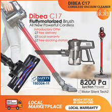 [▼GSS SALE] Dibea Cordless Lithium High Powered C17/ F6 Duo Cyclone Upright Vacuum Cleaner