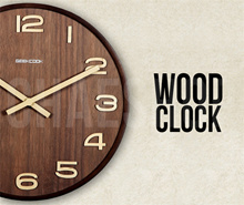 ★FREE SHIPPING★Premium European Design Wall Clock★Wooden★Pendulum Swing★Local Distributor