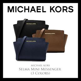 06e7cfc38d0f Michael Kors Selma Mini Messenger (Available In 3 Colors)