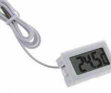 2m Digital LCD Thermometer for Terrarium Aquarium Refrigerator Freezer and Science