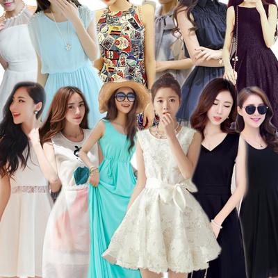 韓国ファッション 高品質 夏新入荷 パーティードレス★レースの切り替えワンピース★ セクシーな ワンピース パーティードレス dress パーティ ドレス ミニスカート ショートドレス 結婚式