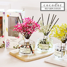 CoCodor Flower Aroma Reed Diffuser 200ML / Made in Korea / No Alcohol