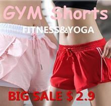 【Keeping up】Sports shorts yoga shorts Pants Sports wear pants running pants Yoga pants