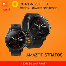 Make $218[Official Amazfit Singapore] XIAOMI HUAMI AMAZFIT STRATOS Smart Watch | English Version