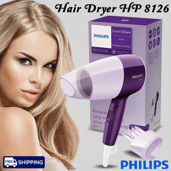 Philips Hair Driyer HP 8126 Deals for only Rp260.000 instead of Rp260.000