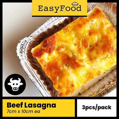 Bundle of 3: Beef Lasagna (7cm x 10cm) (UP$44.70)