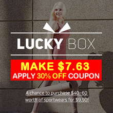 [MAKE $7.63] ★Lucky Box Event★SPORTS WEAR/leggings/pants/top/tanks/t-shirt/worth up to $60