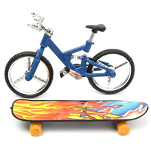 Tech Deck Finger Bike Bicycle & Finger Board Boy Kid Children Wheel Toy Gift