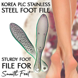 USUAL$128* KOREA PLC Foot File READY STOCKS SG CALLUS STURDY FOOT FILE FOR SMOOTHNESS!!