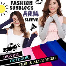☀ ANTI-UV SUN BLOCK ARM SLEEVES ☀ FINGERLESS GLOVES ☀ HAND COVER ☀ ARM GUARD ☀ARM WARMER☀HALF GLOVES