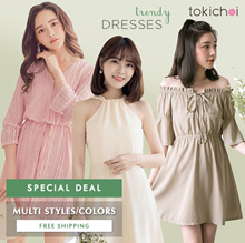 TOKICHOI - July Sale! Trendy Dresses Multi Colors/Styles/Women/Girl/Ladies Clothing-Free Shipping