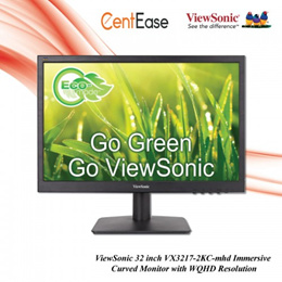 ViewSonic 19 inch VA1903a widescreen LED Monitor - TN Panel| VGA| Anti-Glare