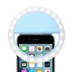 Rechargeable Selfie Ring Light (Blue Color)