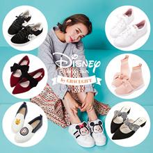 Gracegift-Disney Alice Mickey Tsum Tsum Shoes Heels Flats Mules Boots
