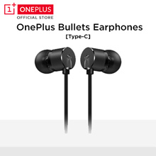 OnePlus Type-C Bullets Earphones Black