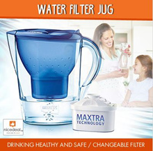 BRANDED WATER FILTER JUG 3.5L2.5L/Drinking healthy and safe/Changeable filter/Good quality