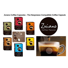 Zuiano Coffee - The Nespresso ® compatible capsule / 10 Capsules Per Box / FREE SHIPPING