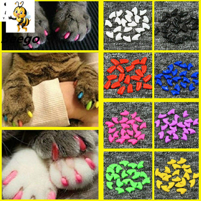 Nail Covers Cat Nail Caps Pet Claw Paws