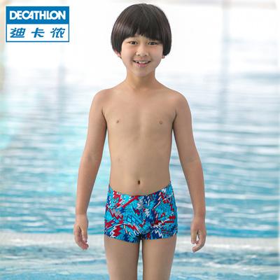 25b4dffb5f Decathlon child fashion cute boys swim boys Speedo shorts 75746 NABAIJI