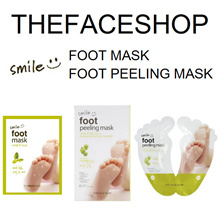 ★ THE FACE SHOP ★ SMILE Foot Mask / Peeling Mask ★ TheFaceShop faceshop